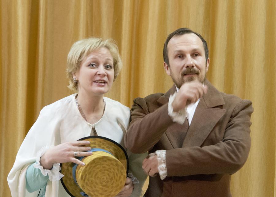 Пермский православный театр представил сценическую биографию Достоевского