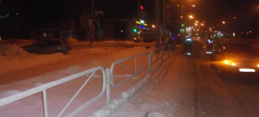 В Перми в ДТП травмирован пьяный водитель ВАЗа