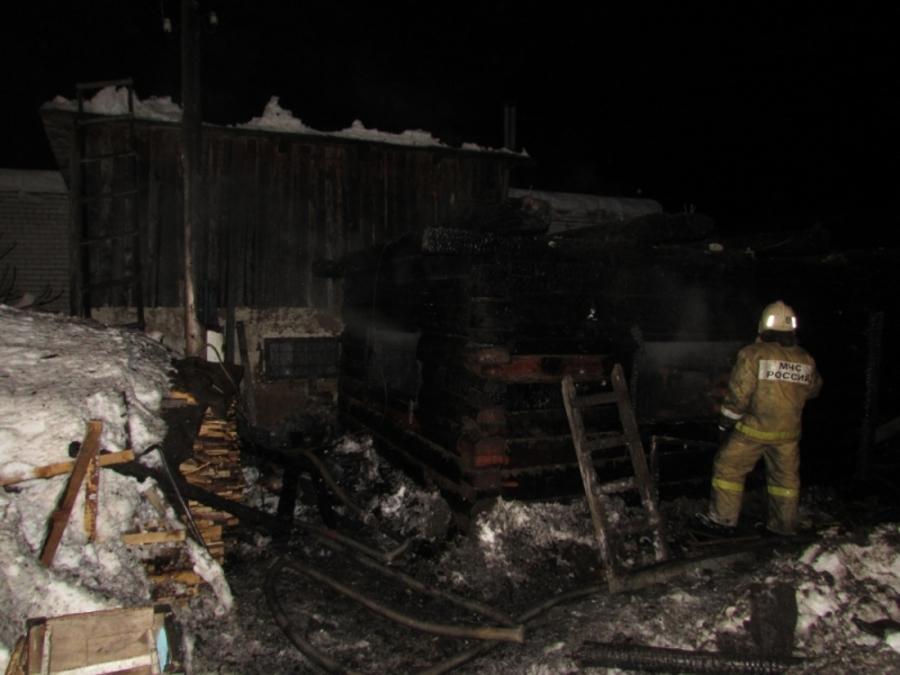 В Краснокамском районе при пожаре сгорела женщина