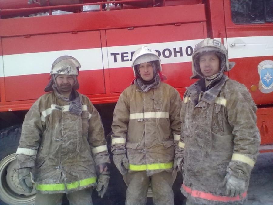 В Пермском крае на пожарах спасены три человека
