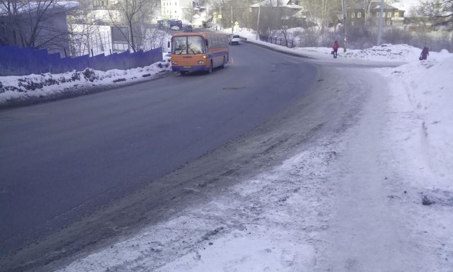 В Перми девочка попала под автобус