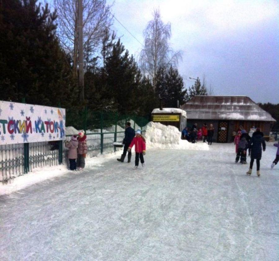 В Перми открылся каток только для детей - фото 1