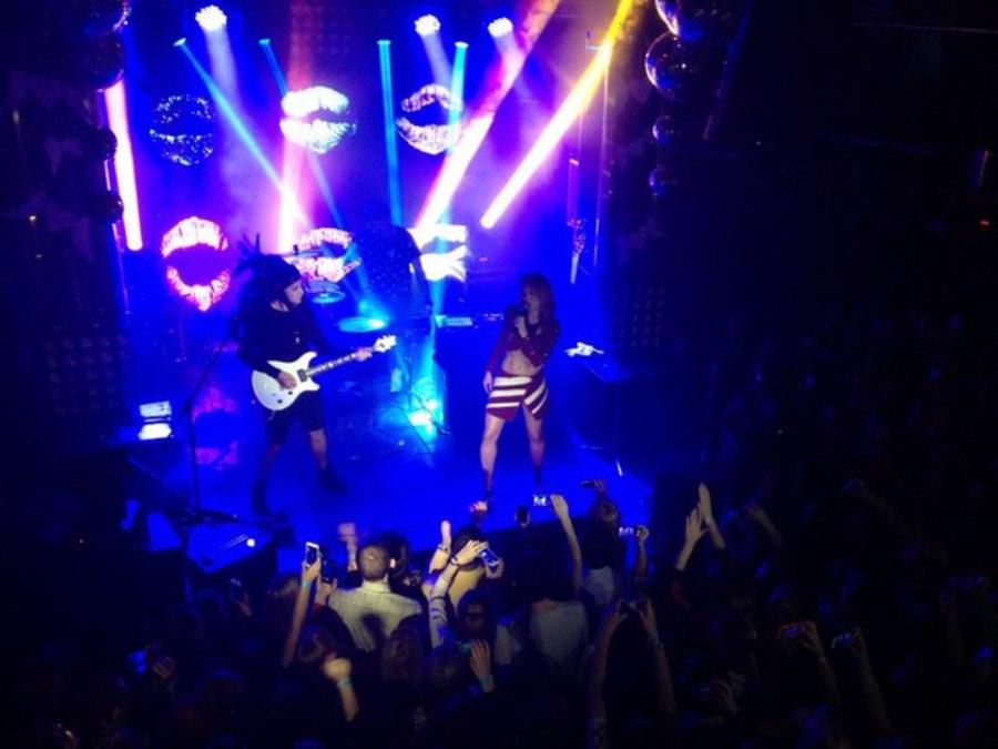 В Перми на концерте IOWA  было жарко - фото 1