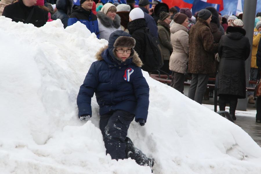 В Перми отметили годовщину присоединения Крыма - фото 1