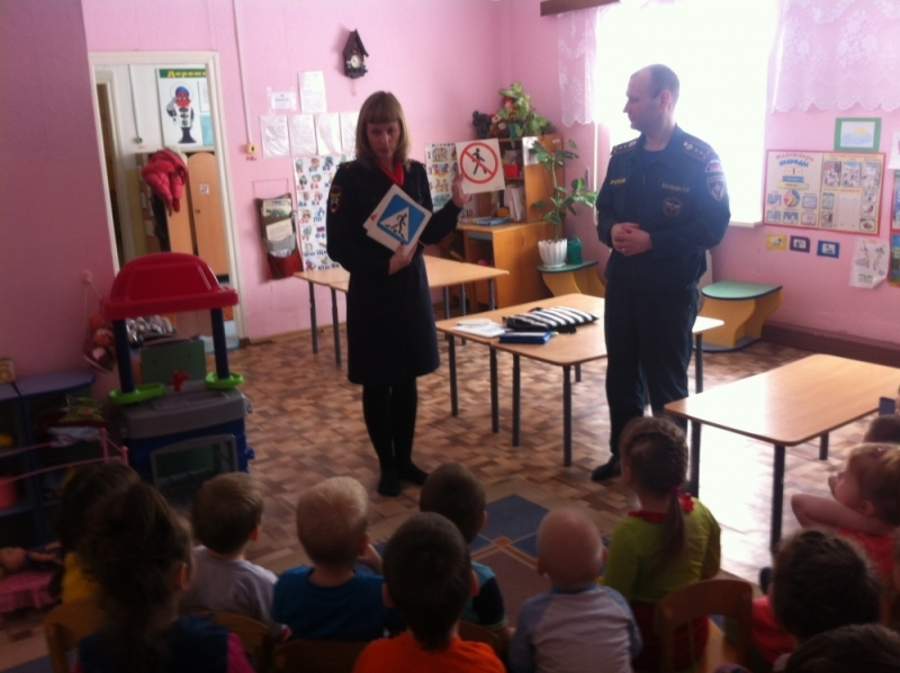 Детей из Чусового научили безопасному поведению