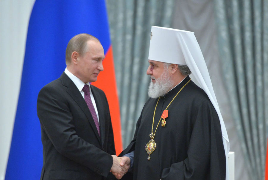 Митрополит Пермский и Кунгурский Мефодий стал орденоносцем - фото 1
