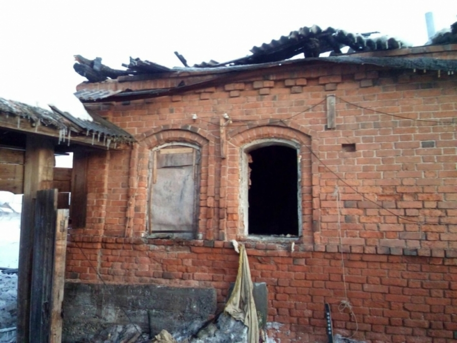 В Уинском районе в горящем доме погибли пять человек - фото 1