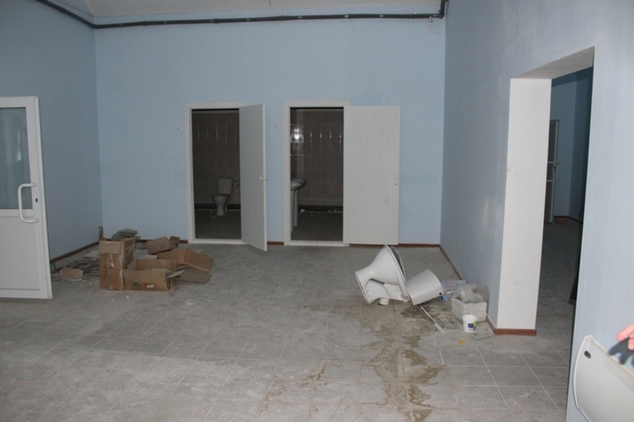 В Гайнском районе из школы похищены унитазы