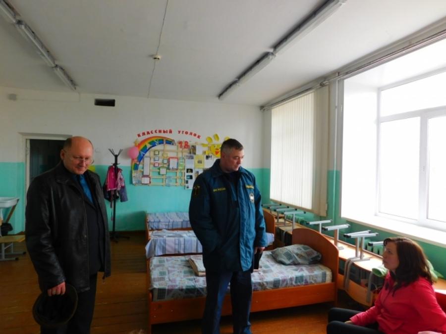 В Кудымкаре произошла замена оперативной группы МЧС РФ по Пермскому краю