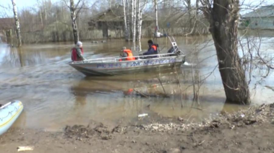 В Пермском крае продолжается паводок
