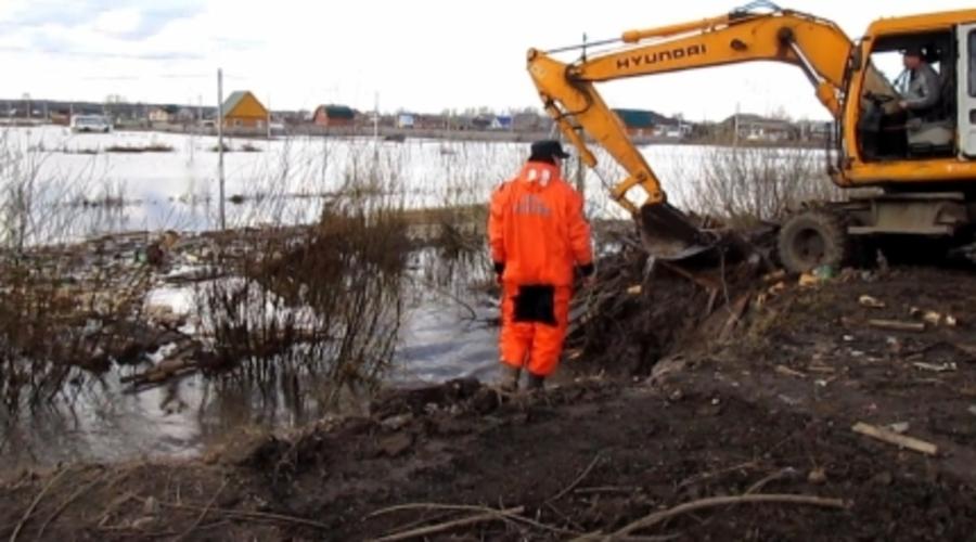 Ситуация с паводком в Пермском крае начинает улучшаться - фото 1