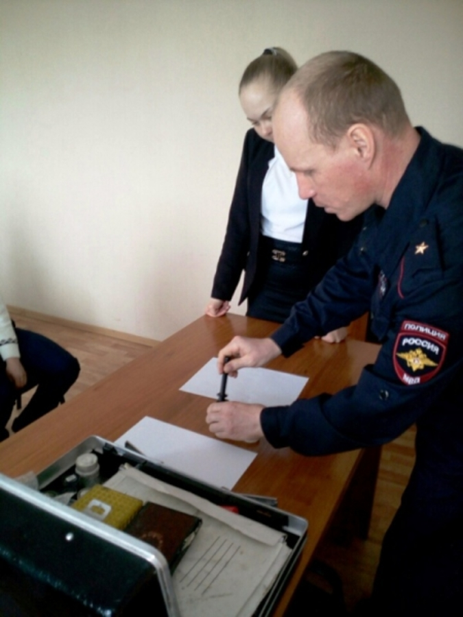 Суксунские школьники заинтересовались работой полиции - фото 1