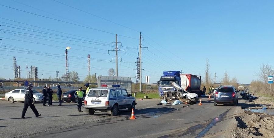 За праздники на дорогах Пермского края погибли четыре человека