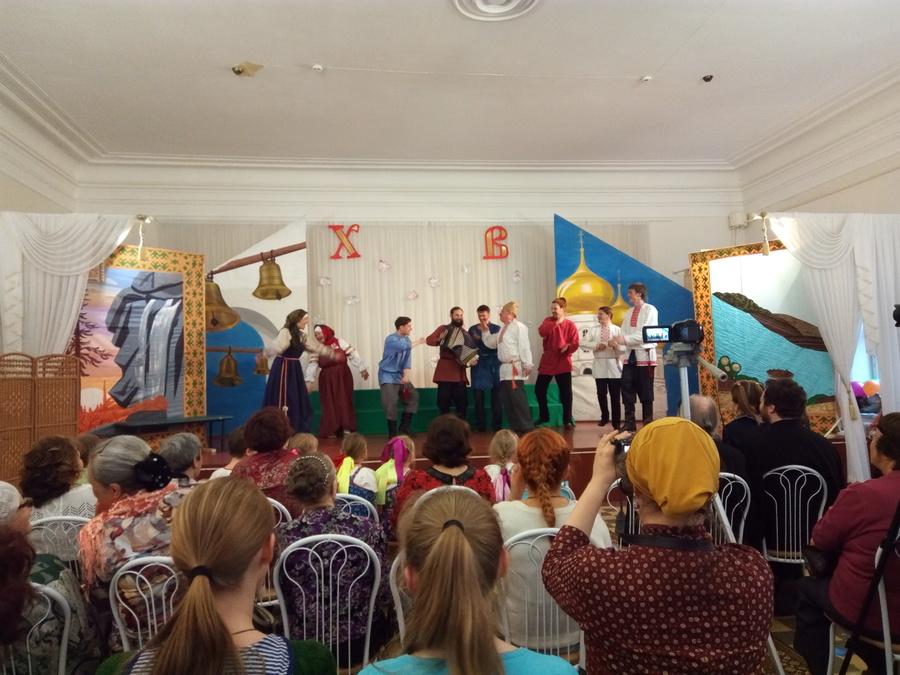 «Ермаковы лебеди» парили в Православной гимназии