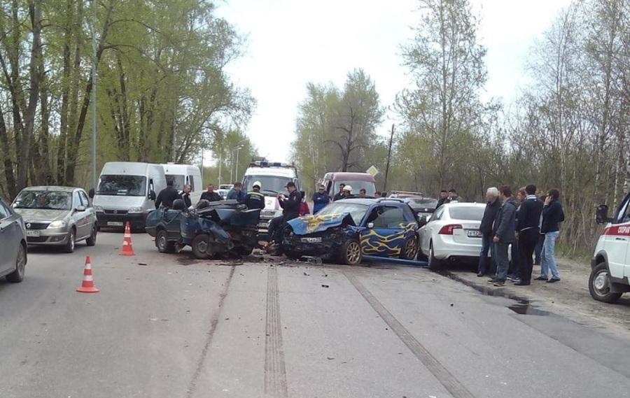 В Перми в ДТП с участием трех автомобилей погиб один человек