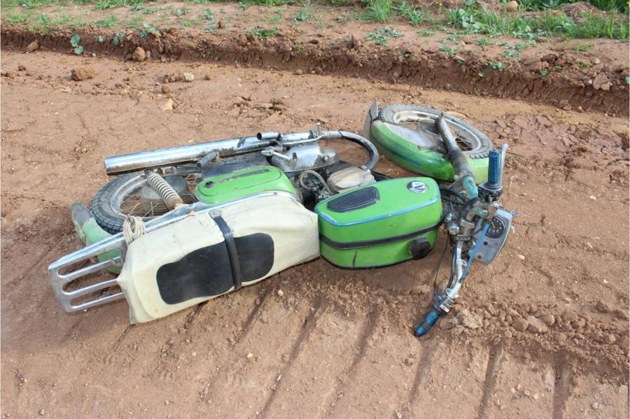 В Гайнском районе погиб мотоциклист - фото 1