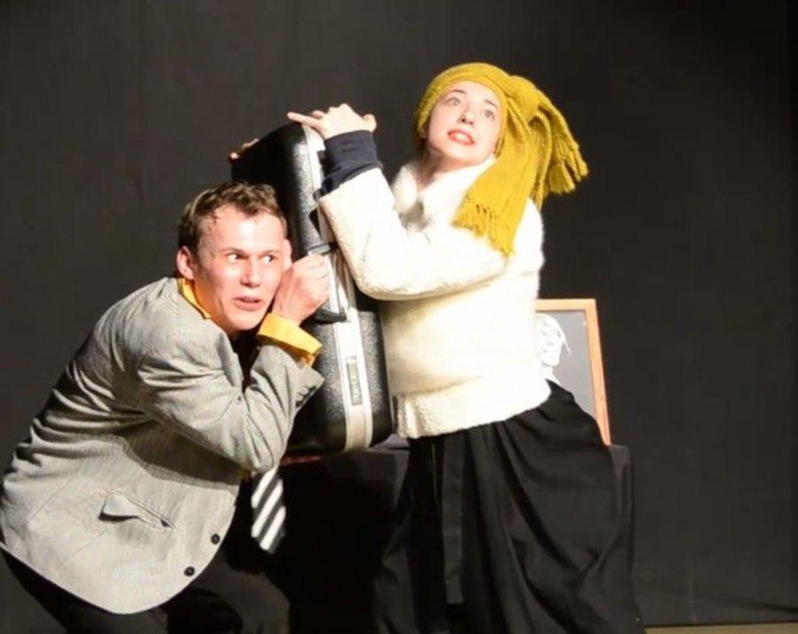 Прохиндей  Тарелкин ожил в спектакле Пермского учебного театра - фото 1
