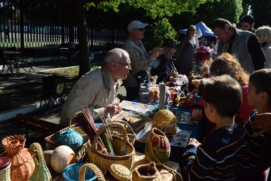 В Перми состоялся фестиваль национальных искусств и ремесел