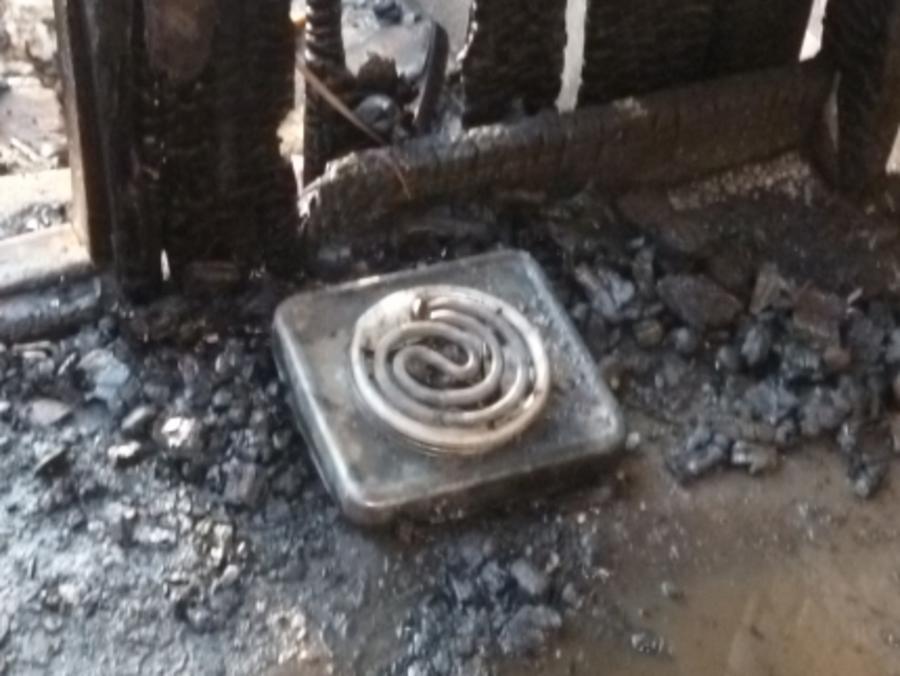 В Чернушке на пожаре погибла пожилая женщина - фото 1