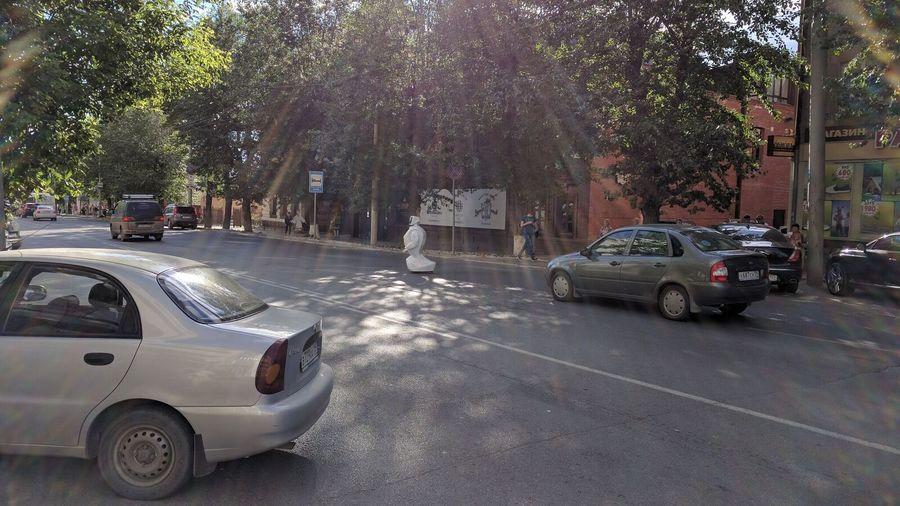 В Перми оставленный без присмотра робот отправился искать приключения - фото 1