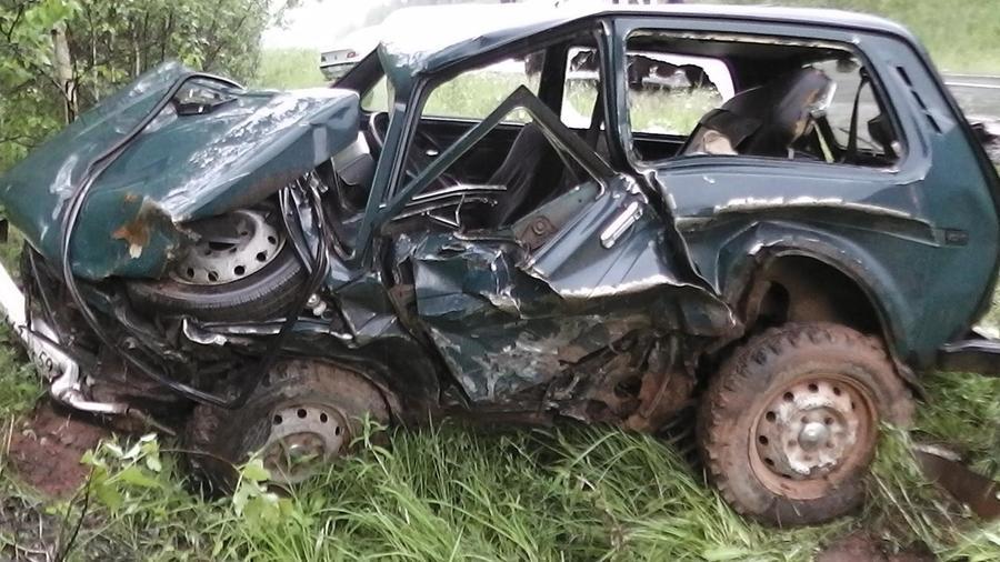 В Сивинском районе в столкновении автомобилей погиб водитель Нивы - фото 1