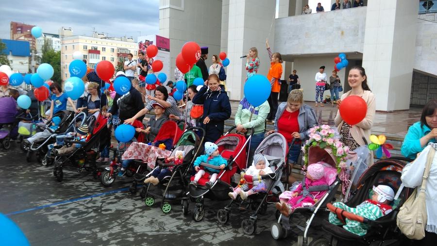 Дождь не испортил пермский семейный праздник