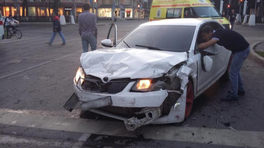 В Перми в автоаварии ранены пять человек