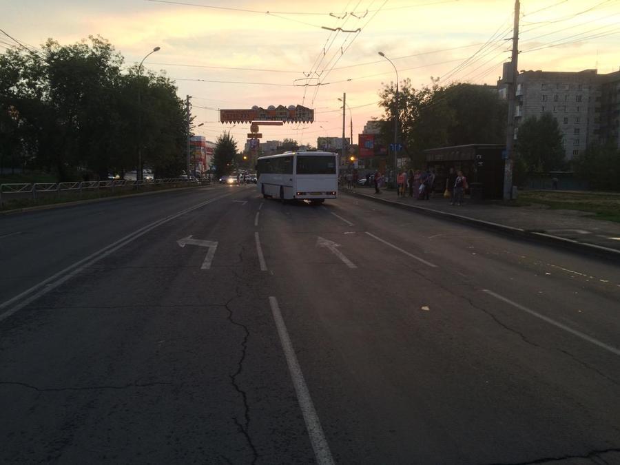 В Перми произошло ДТП с участием автобуса - фото 1