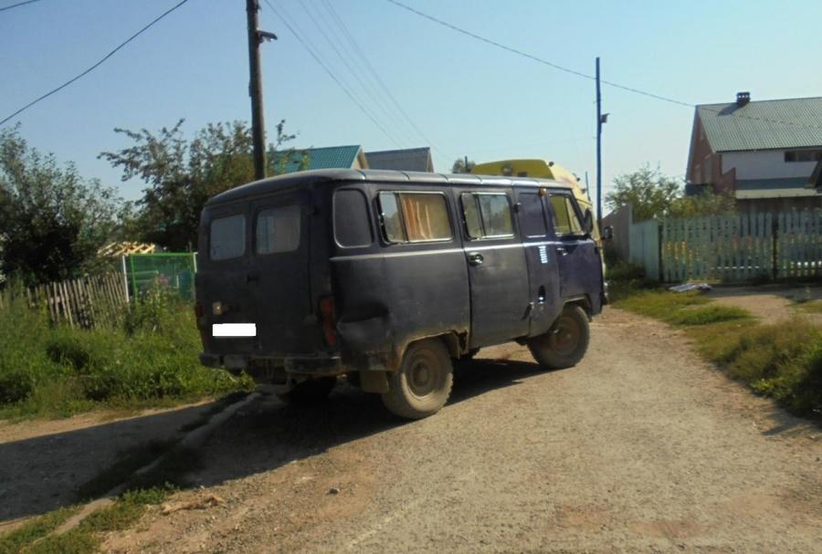 В Кунгурском районе водитель УАЗа задавил мальчика - фото 1