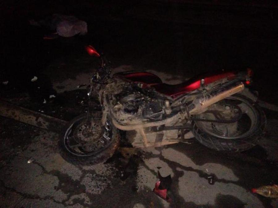 Ночью в Перми погиб мотоциклист