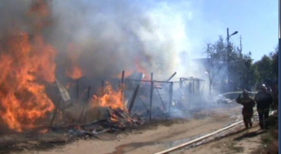 В Чайковском районе произошло два пожара - фото 1