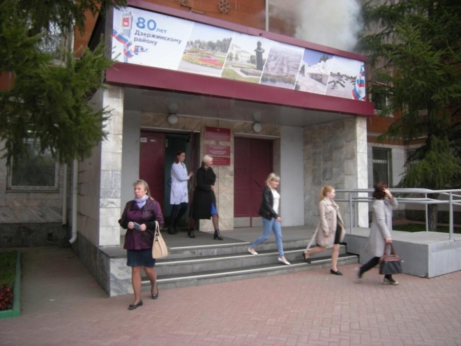Действия Администрации Дзержинского района на предполагаемом пожаре оцениваются «удовлетворительно»