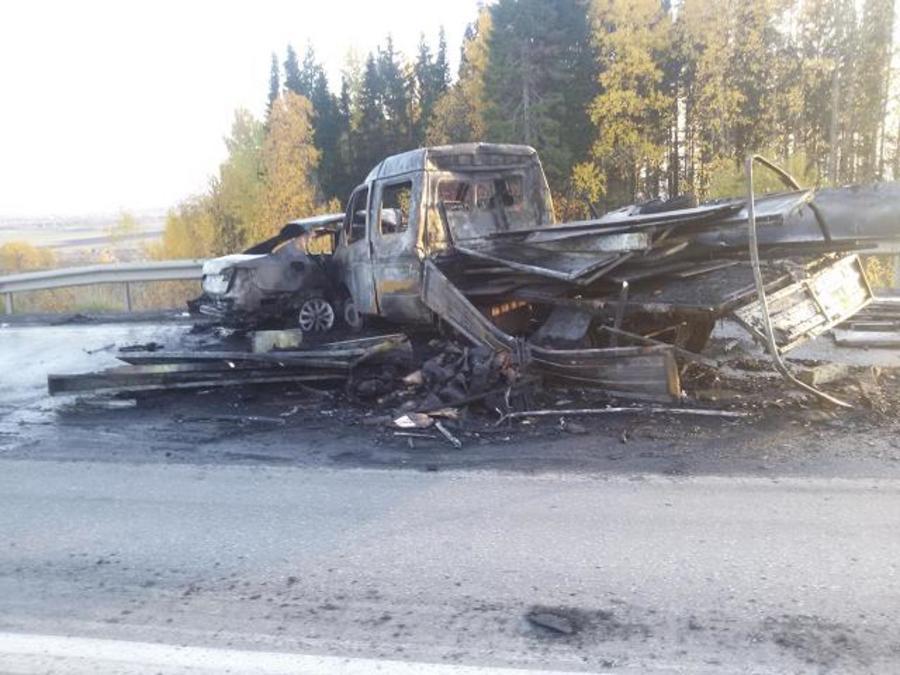 В Пермском крае на встречной полосе погибли 40 человек, 453 человека ранены