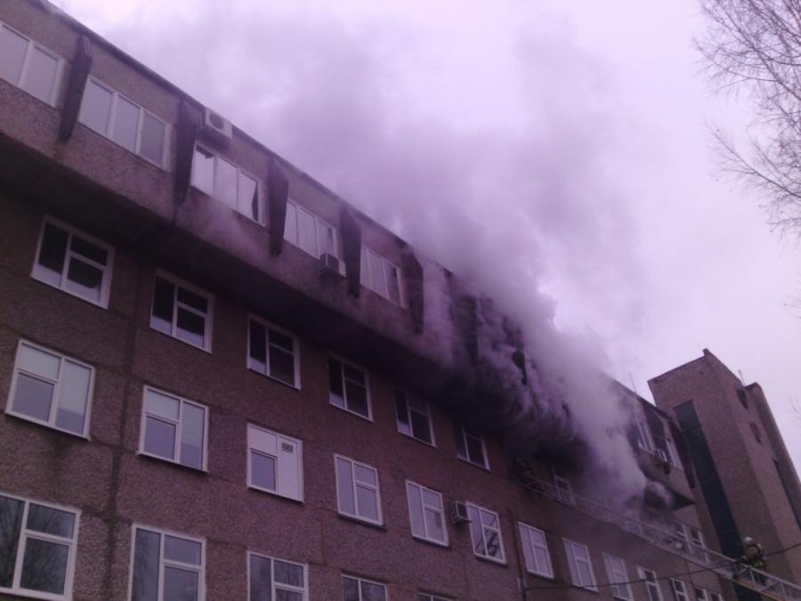 В Перми ликвидирован пожар в медсанчасти №140