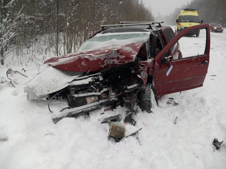 В выходные на дорогах Пермского края погибли два человека