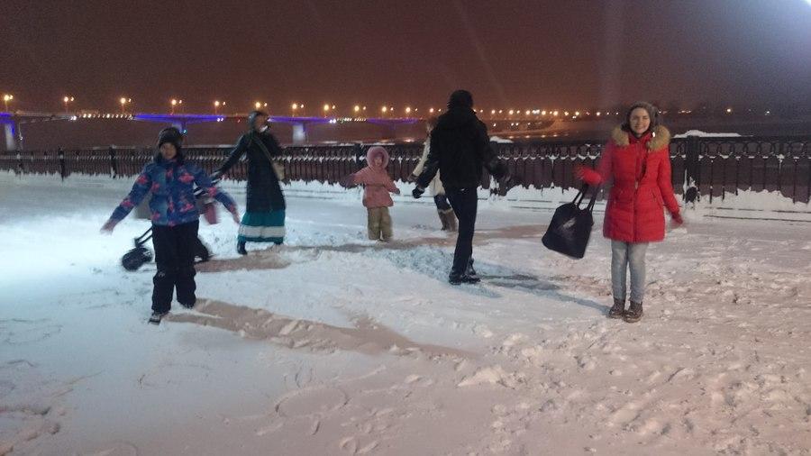В Перми устроили танцы на набережной