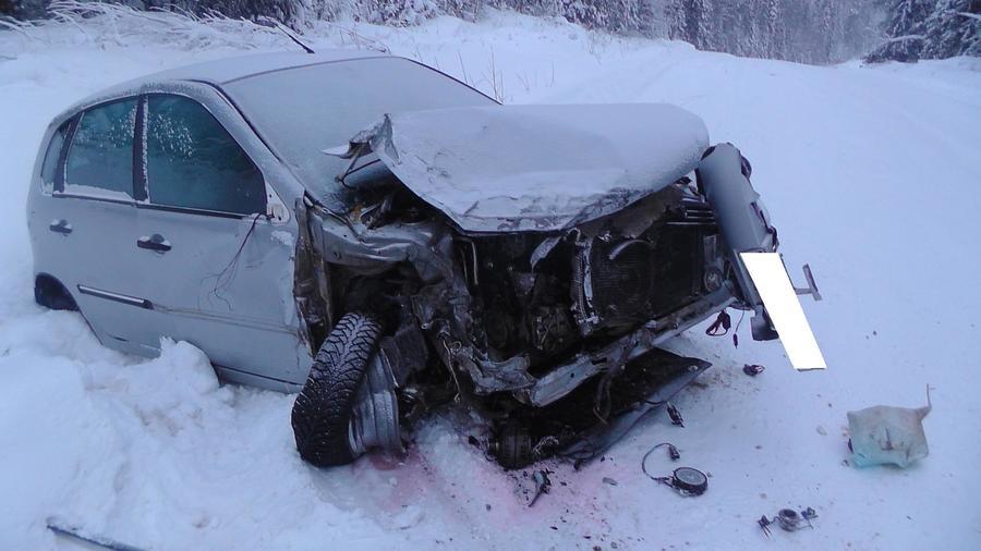 В Пермском крае в столкновении автомобилей травмированы женщина и ребенок - фото 2