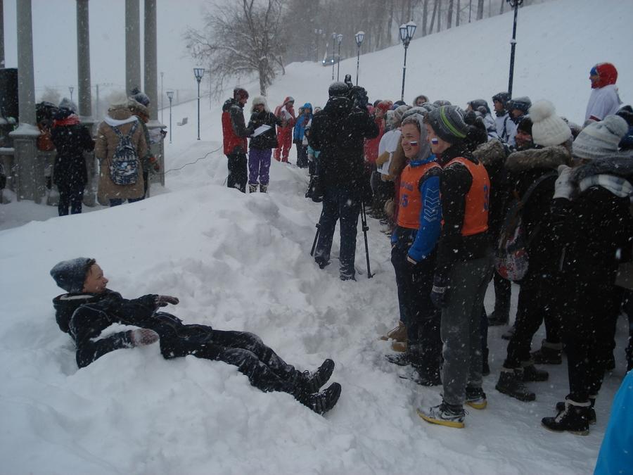 В Перми прошли «ВсеПермские снежные гонки»