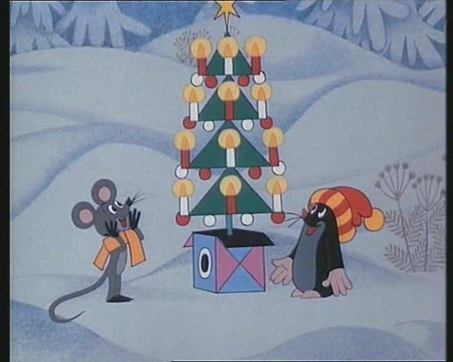 Мультфильмы о новом годе и рождестве советские