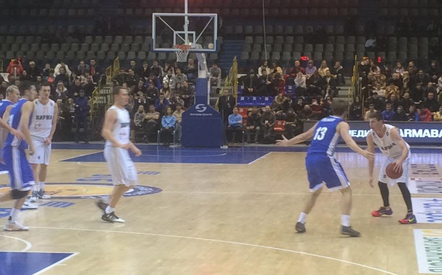 Пермская «Парма» проиграла петербургскому «Зениту»