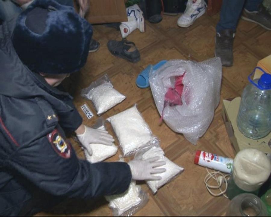Пермские полицейские арестовали дилера с 18 килограммами наркотика
