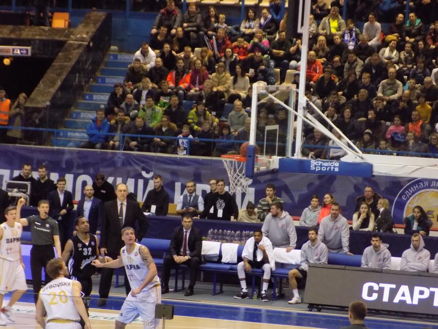 Пермские баскетболисты потерпели поражение