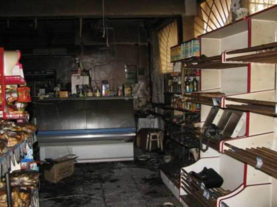 Житель Кунгурcкого района поджег магазин, чтобы скрыть кражу