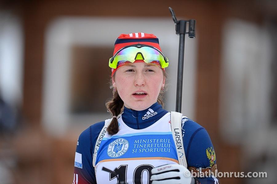 Пермская юниорка выиграла гонку преследования на биатлонном чемпионате мира