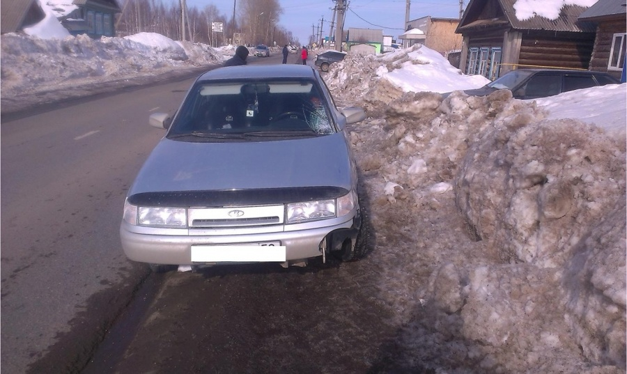 В Чернушке ребенок попал под автомобиль нетрезвого и не имеющего прав водителя - фото 1