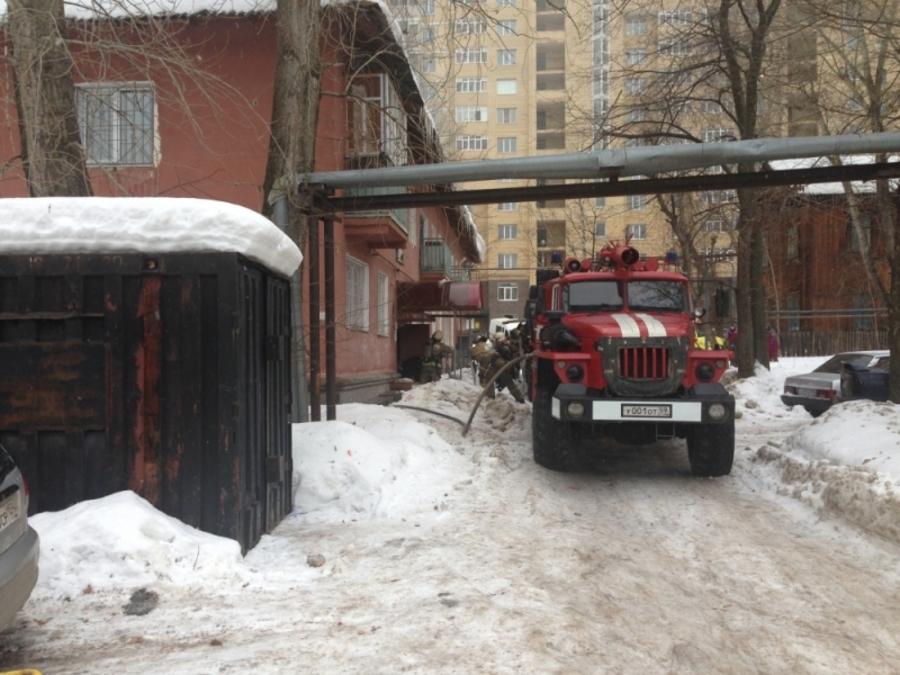 В Перми при пожаре в двухэтажном жилом доме погиб мужчина