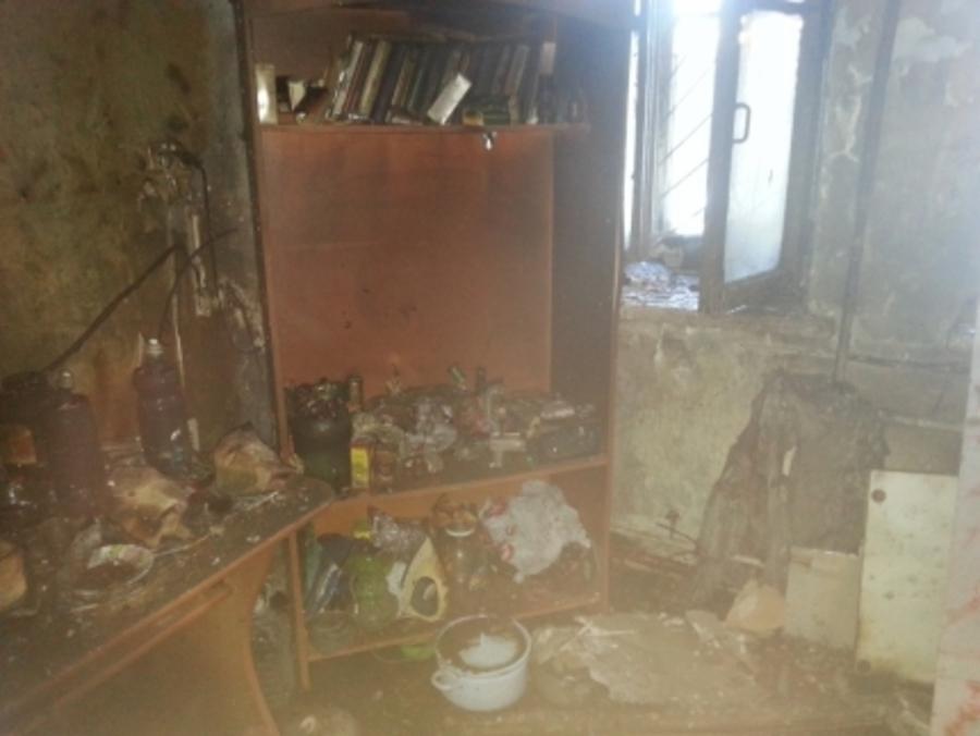 В Перми сосед вытащил обгоревшего мужчину из горящей комнаты - фото 1