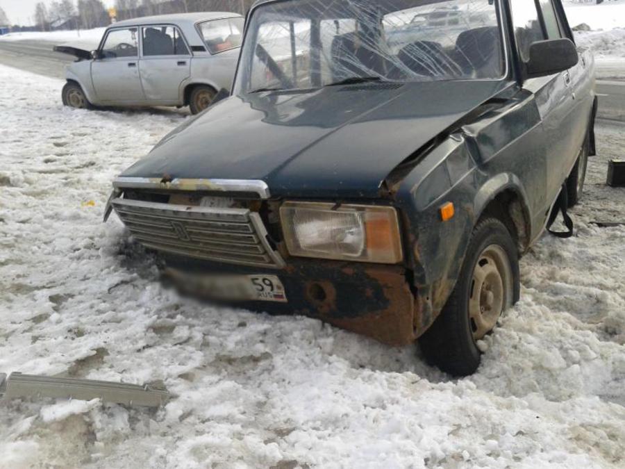 В Пермском крае 86-летний пенсионер на «семерке» совершил автоаварию - фото 1