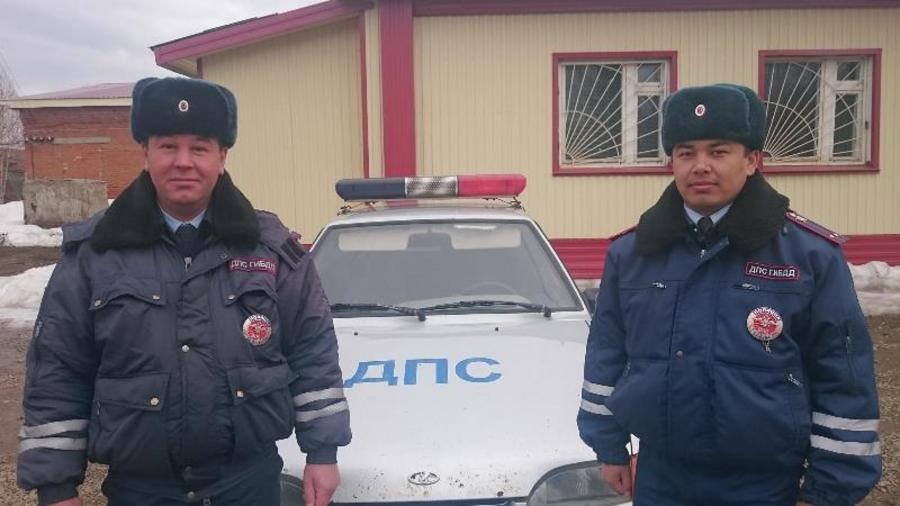 Водитель большегруза поблагодарил сотрудников ГИБДД
