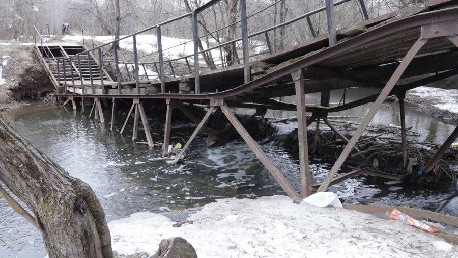 В Перми в речке Данилиха обнаружены опасные химические вещества